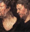 Studies of the Head of Abraham Grapheus WGA
