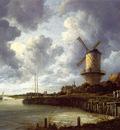 Mill at Wijk near Duursteede