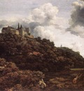RUISDAEL Jacob Isaackszon van Bentheim Castle