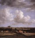 RUISDAEL Jacob Isaackszon van Landscape With A View Of Haarlem