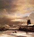 Ruisdael Jacob Issaksz Van Winter Landscape