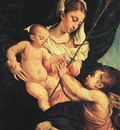 BASSANO Jacopo Madonna And Child With Saint John The Baptist