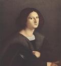 PALMA VECCHIO Portrait Of A Man