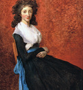 David Jacques Louis Portrait of Louise Trudaine