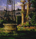 Beckwith James Carroll In the Gardens of the Villa Palmieri