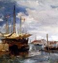 Holland James San Giorgio Maggiore From The Lagoon Venice