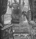 Tissot Femme a la fenetre