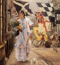 Tissot James Jacques A Fete Day at Brighton