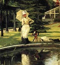Tissot James Jacques In an English Garden