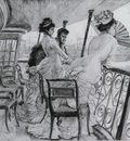 Tissot James Jaques Joseph La Galerie du Calcutta