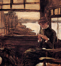 Tissot James Study For The Prodigal Son In Modern Life The Depature