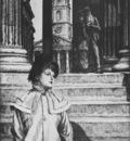 Tissot Le portique de la Galerie nationale a Londres