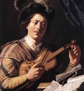 LIEVENS Jan The Violin Player