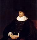Lievens Jan Portrait Of Constantijn Huygens