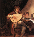 STEEN Jan Self Portrait As A Lutenist