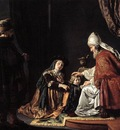 VICTORS Jan Hannah Giving Her Son Samuel To The Priest