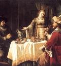 VICTORS Jan The Banquet Of Esther And Ahasuerus