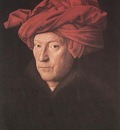 Eyck Jan van Man in a Turban