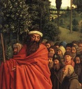 Eyck Jan van The Ghent Altarpiece Adoration of the Lamb The Holy Pilgrims