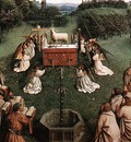 Eyck Jan van The Ghent Altarpiece Adoration of the Lamb detail centre