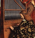 Eyck Jan van The Ghent Altarpiece Angels Playing Music