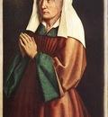 Eyck Jan van The Ghent Altarpiece The Donor s Wife