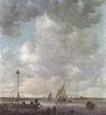 Goyen Jan van Marine Landscape with Fishermen
