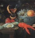 KESSEL Jan van Still Life With Fruit And Shellfish