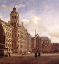 HEYDEN Jan van der The New Town Hall In Amsterdam