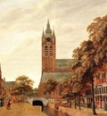 HEYDEN Jan van der View Of Delft