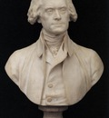 HOUDON Jean Antoine Bust of Thomas Jefferson