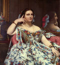 Madame Paul Sigisbert Moitessier Seated