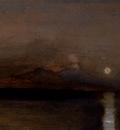 Gibert Jean Baptiste Adolphe Sunset On The Sea