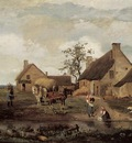 Corot A Farm in the Nievre