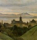 Corot Between Lake Geneva and the Alps