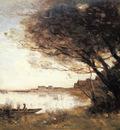 Corot Jean Baptiste Camille L Inondation