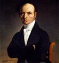 Corot Jean Baptiste Camille Portrait Of A Man