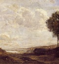 Corot Landscape by the Lake