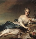 NATTIER Jean Marc Marie Adelaide Of France As Flora