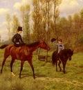 Goubie Jean Richard The Morning Ride