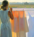 Larson Jeffrey 1999 The Color Of Daylight 20by24in