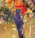 Sorolla Joaquin Retrato Del Rey Don Alfonso XIII con el Uniforme De Husares