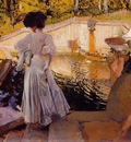Sorolla y Bastida Joaquin Maria Watching the Fish Granja