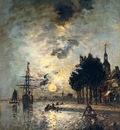 Jongkind Johan Barthold Clair De Lune