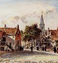 Jongkind Johan Barthold Rue De Village Hollande