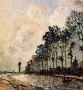 Jongkind Johan Berthold The Oorcq Canal Aisne