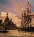 Jongkind Johan Berthold The Port of Rotterdam