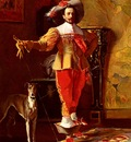 Hamza Johann A cavalier And His Hound