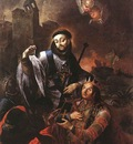 KRACKER Johann Lucas St Francis Of Solano Baptizing Indians