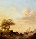 Koekkoek Johannes Hermanus Coming Ashore